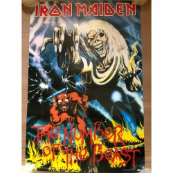 Iron Maiden - The Number of the Beast - Poster