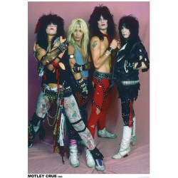 Mötley Crüe - Band Photo - Poster